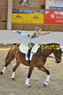 Schenkenberg I; Pferd: Harley; Longe: Katja Wagner