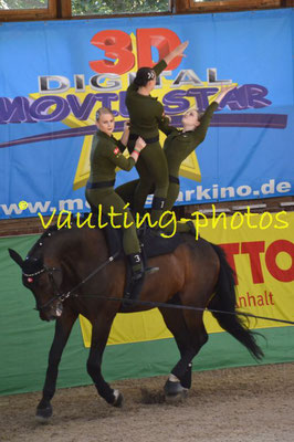 BIS I (DEN); Pferd: Turbo af Kloster; Longe: Maria Rasmussen