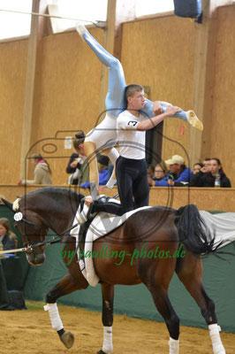 VV Böhlitz-Ehrenberg; Pferd: Remus; Longe: Jana Dorn