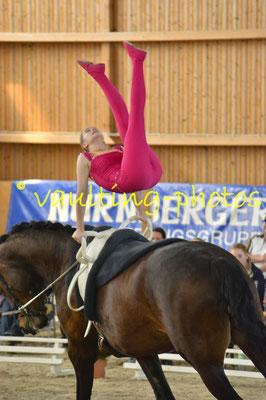 Krumke I; Pferd: San Zero; Longe: Marion Schulze