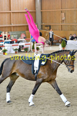 Krumke Junior I; Pferd: San Zero; Longe: Marion Schulze