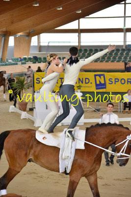Gut Stockum/Natbergen (GER); Pferd: Lakshmi; Longe: Tim-Randy Sia