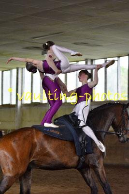 RFV St. Laurentius Zerbst; Pferd: Duplan; Longe: Henriette Finger