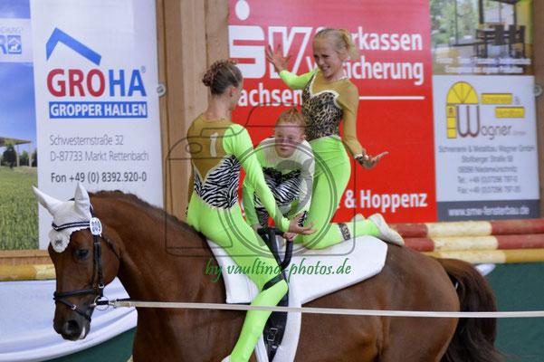 RVV Schenkenberg II; Pferd: Giovanni; Longe: Katja Wagner