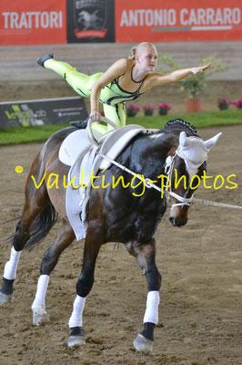 Voltiz Albertovec (CZE); Pferd: Patriot NF; Longe: Ladislav Mensik