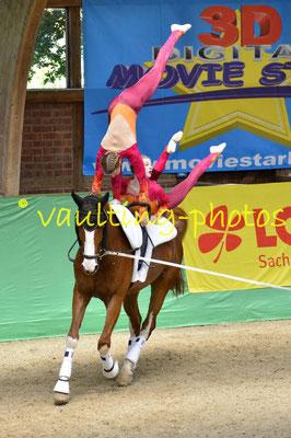 Lingen-Juniorteam (GER); Pferd: Casanova; Longe: Agnest Först