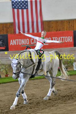 CIM Juniorteam (ITA); Pferd: Cobra Boy; Longe: Francesco Bortoletto