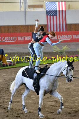 Manuela Sasso/Noemi Busichella (ITA); Pferd: Ximel; Longe: Filippo Benvenuti
