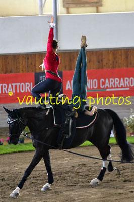 Valeria Tomei/Antonio Popolo (ITA); Pferd: Giovanni 164; Longe: Silvia Lucchesi