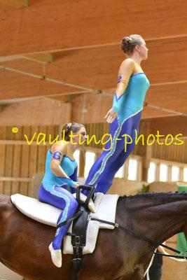RVV Schenkenberg III; Longe: Melanie Peglow; Pferd: Chakira