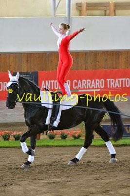 Team Athleta (SUI); Pferd: Castle Master Lady; Longe: Trudi Kauer