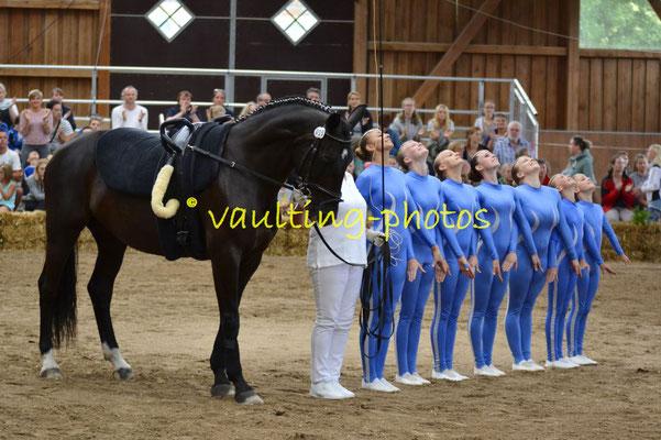 RV Pleichachtal IA; LV: Bayern; Pferd: KCM C.Beaudine; Longe: Martina Pfister