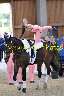 Reibitz I; Pferd: Rubin Fiorello; Longe: Nicole Oleszak