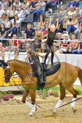 Salzmünde I; LV: Sachsen-Anhalt; Pferd: Summersby; Longe: Franziska Mauff