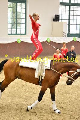 VV Ingelsber Junior I; LV: Bayern; Pferd: Holt`s Romeo; Longe: Alexander Hartl
