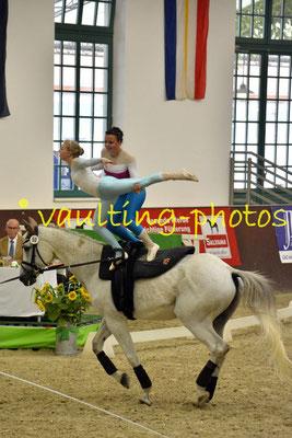 Lara Thiel/Elisa Metz; LV: Rheinland-Pfalz; Longe: Alexandra Dietrich; Pferd: Fabriano