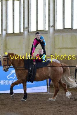 SSZ Liebertwolkwitz III; Pferd: Nina: Longe: Silvia Schirrwagen