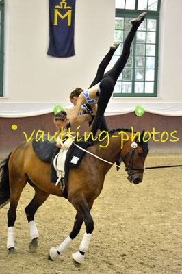 Juniorteam Krumke I; LV: Sachsen-Anhalt; Pferd: San Zero; Longe: Marion Schulze
