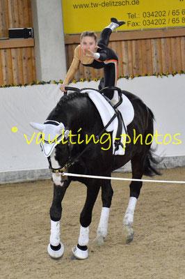 HSC I; Pferd: Delia; Longe: Stefanie Grohmann