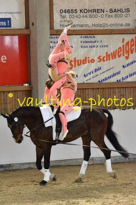 Reibitz I Junior; Pferd: Rubin Fiorello; Longe: Nicole Oleszak