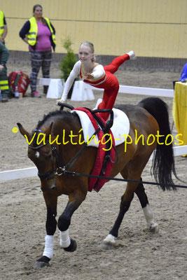 MBRK Junior (DEN); Pferd: Cannavaro; Longe: Kristine Eva Bjarndahl