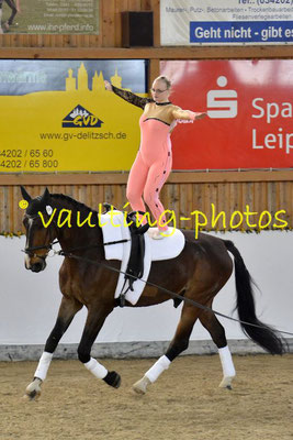 Reibitz I Junior; Pferd: RubinFiorello; Longe: Nicole Oleszak