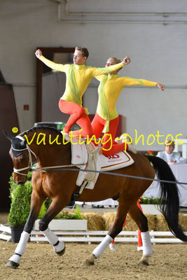 VV Ingelsberg Junior; LV: Bayern; Pferd: Holt`s Romeo; Longe: Alexander Hartl