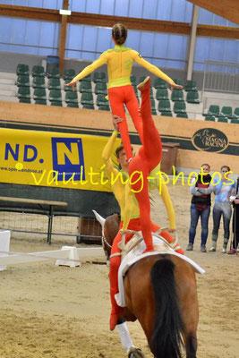 Ingelsberg Junior (GER); Pferd: Holt´s Romeo; Longe: Elisabeth Aichner
