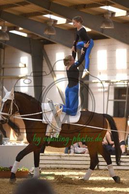 Schäferhof V; Pferd: For Fly; Longe: Christina Mittag