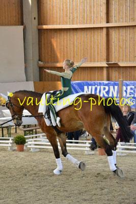 Schenkenberg I; Pferd: Neo; Longe: Peter Wagner