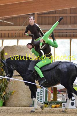 """RuF """"Gestüt am Wilisch"""" I; Longe: Angela Linnemann; Pferd: Wacek"""