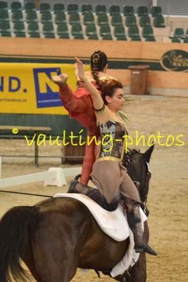 Eliana Arcioni/Gaia Luna Cassanmagnago(ITA); Pferd: Renoire; Longe: Claudia Petersohn