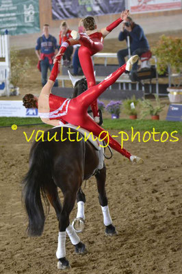 Team Athleta (SUI); Pferd: Castle Master Lady; Longe: Trudi Kauer