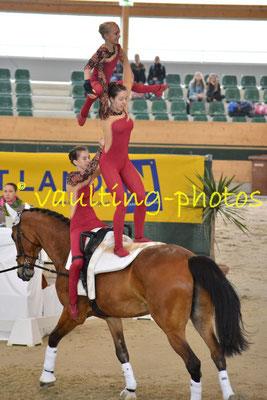 Juniorteam Schenkenberg I (GER); Pferd: Neo; Longe: Peter Wagner
