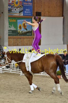 Blankenfelder RV; Pferd: Goethe; Longe: Vera Drechsel