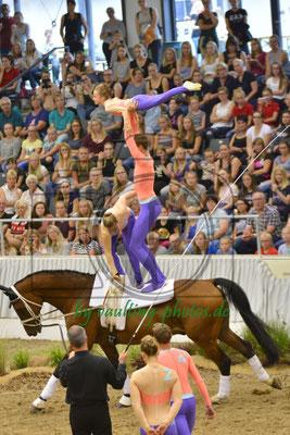 VV Ingelsberg I; LV: Bayern; Pferd: Holt`s Romeo; Longe: Alexander Hartl