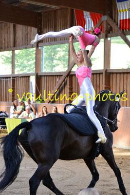 RV Pleichachtal IA; LV: Bayern; Pferd: KCM Beaudine; Longe: Martina Pfister
