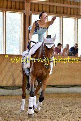 RVV Schenkenberg I; Longe: Peter Wagner; Pferd: Neo