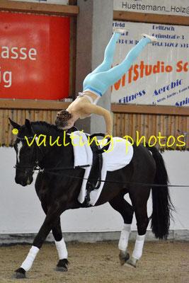 Reibitz II; Pferd: Ronan; Longe: Martina Geißler