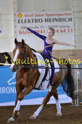 RC Leipzig-Knauthain; Pferd: Leopold; Longe: Jana Tittel