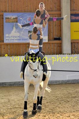 Juniorteam Rostock; Pferd: Kleiner Onkel; Longe: Katja Banzet