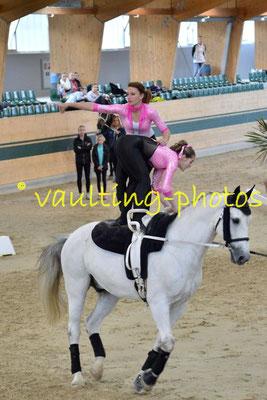 Petra Dragan/Alexandra Semeredy (HUN) ; Pferd: Zakarias; Longe: Natalia Sandor