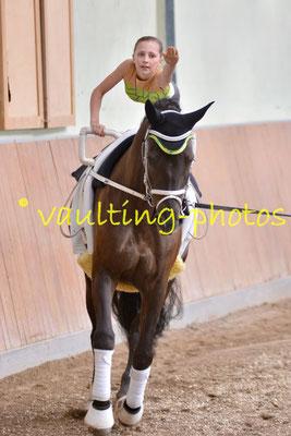 Schriesheim II; LV: Baden-Württemberg; Pferd: Kola; Longe: Ina Baier
