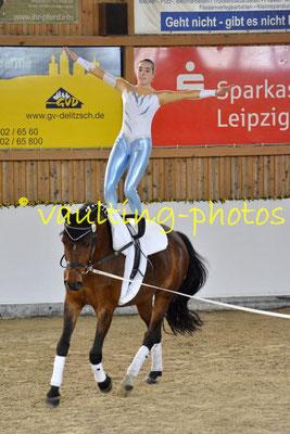 Böhlitz-Ehrenberg Juniorteam; Pferd: Sander; Longe: Jana Dorn