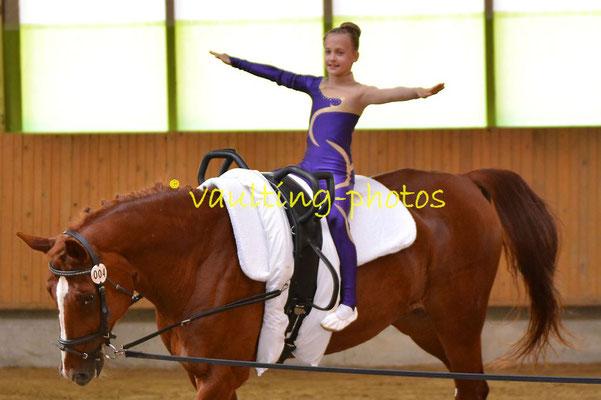 Leipzig-Knauthain II; Longe: Anna Wiesner; Pferd: Don Alfredo