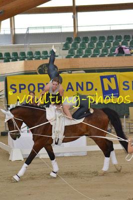 Salzburg Schullergut (AUT); Pferd: Colorado; Longe: Nina Rossin