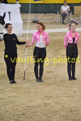Petra Dragan/Alexandra Semeredy (HUN); Pferd: Zakarias; Longe: Natalia Sandor