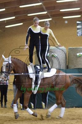 SSZ Liebertwolkwitz; Pferd: Nina; Longe: Franziska Kugeler-Meyer