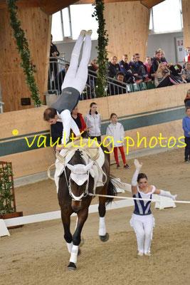 Theresa Thiel/Stefa Csandl (AUT); Pferd: Crossino 2; Longe: Karin Böhmer
