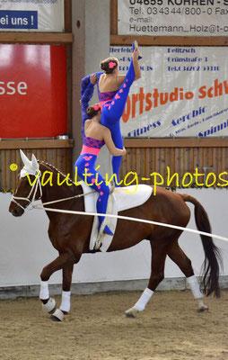 Cremlingen Juniorgruppe; Pferd: Welfenstolz; Longe: Gabi Bertram